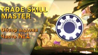TradeSkillMaster обзор аддона часть 1