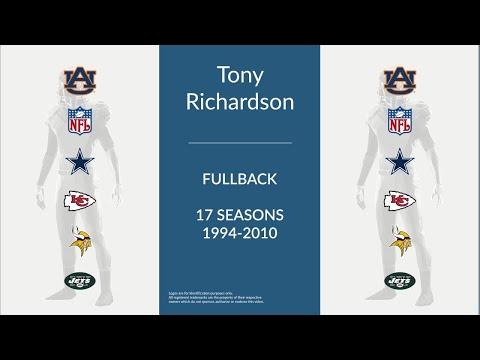 Tony Richardson: Football Fullback