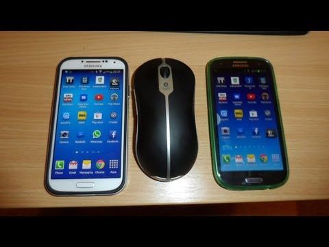 Connect a Bluetooth Mouse to an Android Phone such as Samsung Galaxy S4