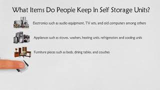 Uses of Self Storage Units | Holloway Storage Sydney