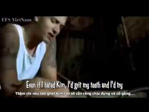 Lyrics+Vietsub Cleaning Out My Closet Eminem