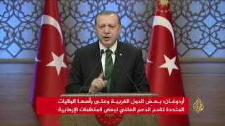 أردوغان: عملية درع الفرات لم تتلق دعم الناتو وحلفائنا
