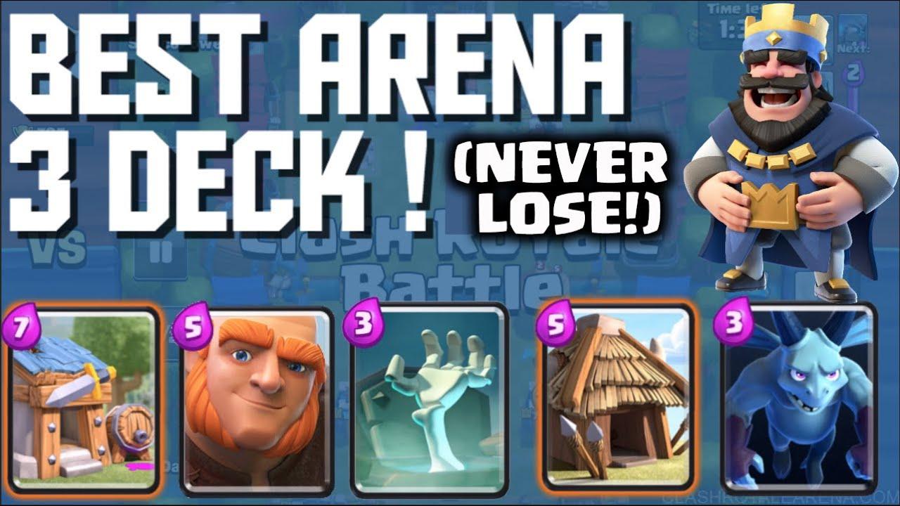 Clash Royale Arena 3 Deck Deutsch