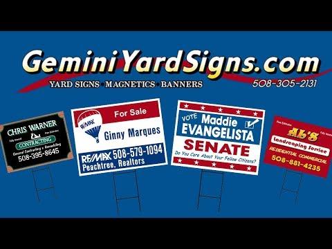 Gemini Sign Letters