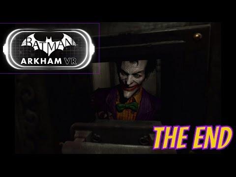 Batman: Arkham VR - Ending Scene |