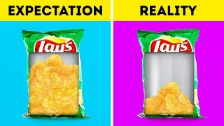 EXPECTATION VS REALITY FOOD FACTS DON&#39T WANT YOU TO KNOW