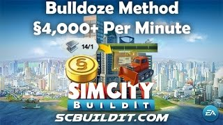 UPDATED! SimCity BuildIt Money Tip - §4,000 Per Minute