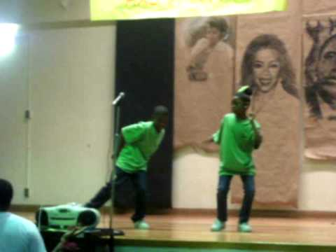 adreon and a.j. talent show 2010