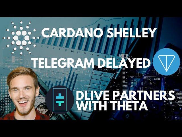 Cardano Shelley Update   Telegram Gram Token, SEC   DLive Partners With Theta Network   bitcoin news