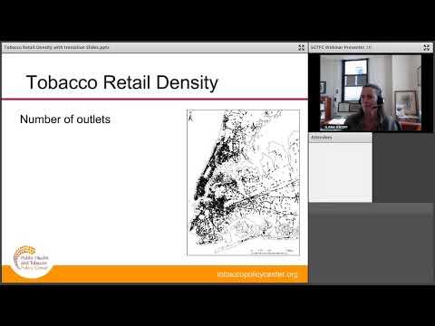 Tobacco Retailer Density & Environment Control