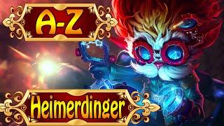 HEIMERDINGER, Der verehrte Erfinder - League of Legends A-Z