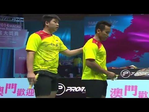 |SF| Match 1 Macau Open Badminton Championships 2014