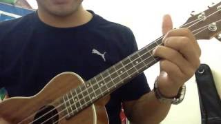Hướng dẫn quạt chả ukulele-Vòng hợp âm G D Em C