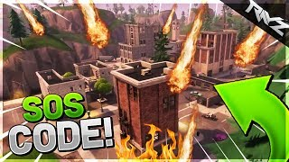 SECRET TILTED TOWERS MESSAGE FOUND! TILTED TOWERS DESTRUCTION MORSE CODE! - Fortnite: Battle Royale