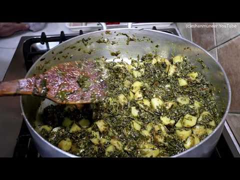 Kasuri Aloo Maithi | Fenugreek Leaves & Potato Casserole