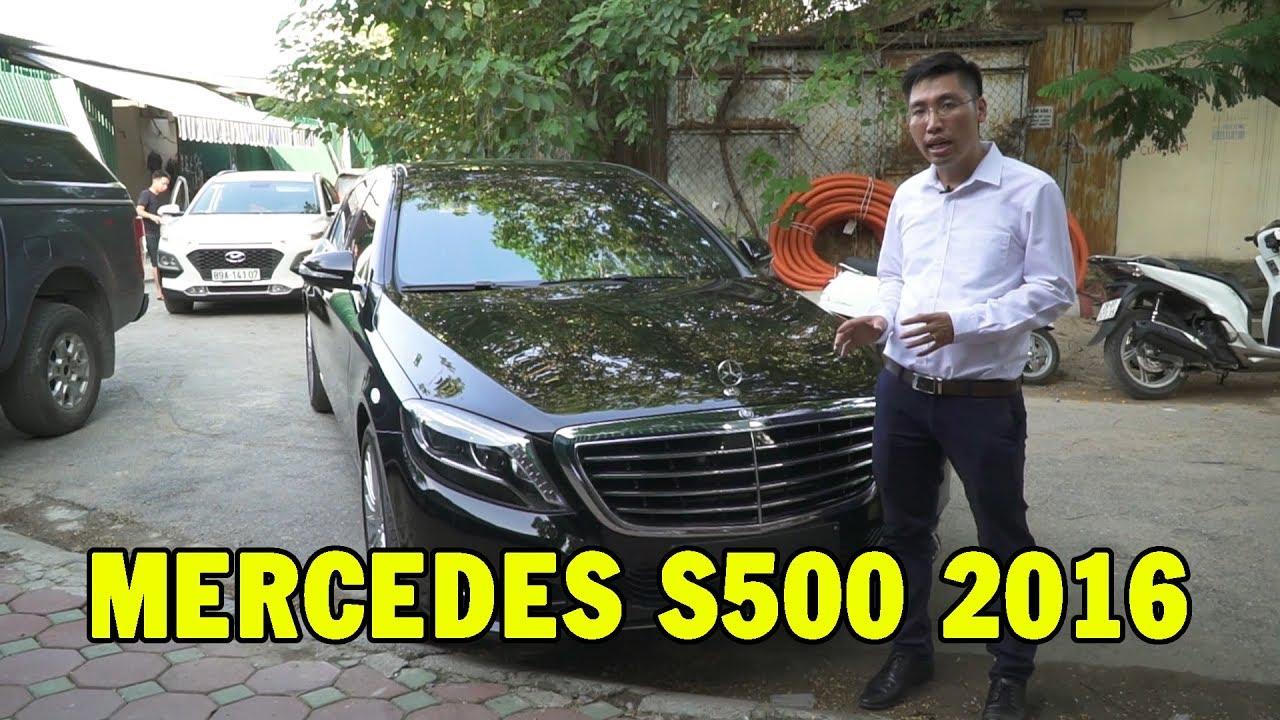 ✅ Mercedes S500 2016 – Xe sang giá rẻ lên kệ chào bán cho người mê xe