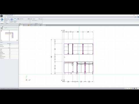 Cabinet Vision Tech Video - Plan and Assembly Cross Sections