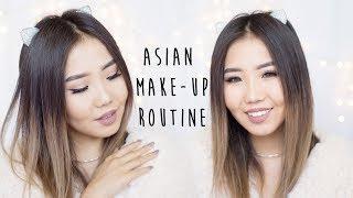 Easy Make Up Tutorial | Asian Skin | Нежный макияж для азиатских глаз