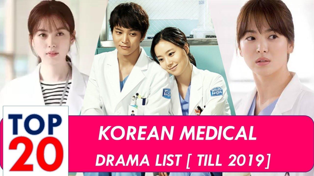 Korean Medical Drama List Top 20 2019 Updated Youtube