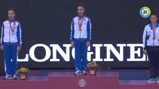 Золотой дебют: Екатерина Селезнева стала новым именем в художественной гимнастике