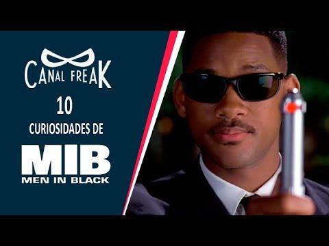 10 Curiosidades de Men In Black | Canal Freak