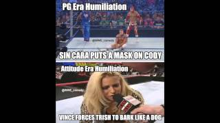 WWE PG Era Vs. WWF Attitude Era