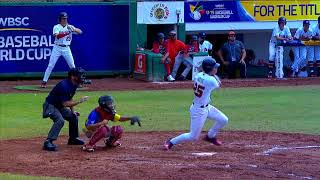 Highlights: Brazil v USA U-15 Baseball World Cup 2018