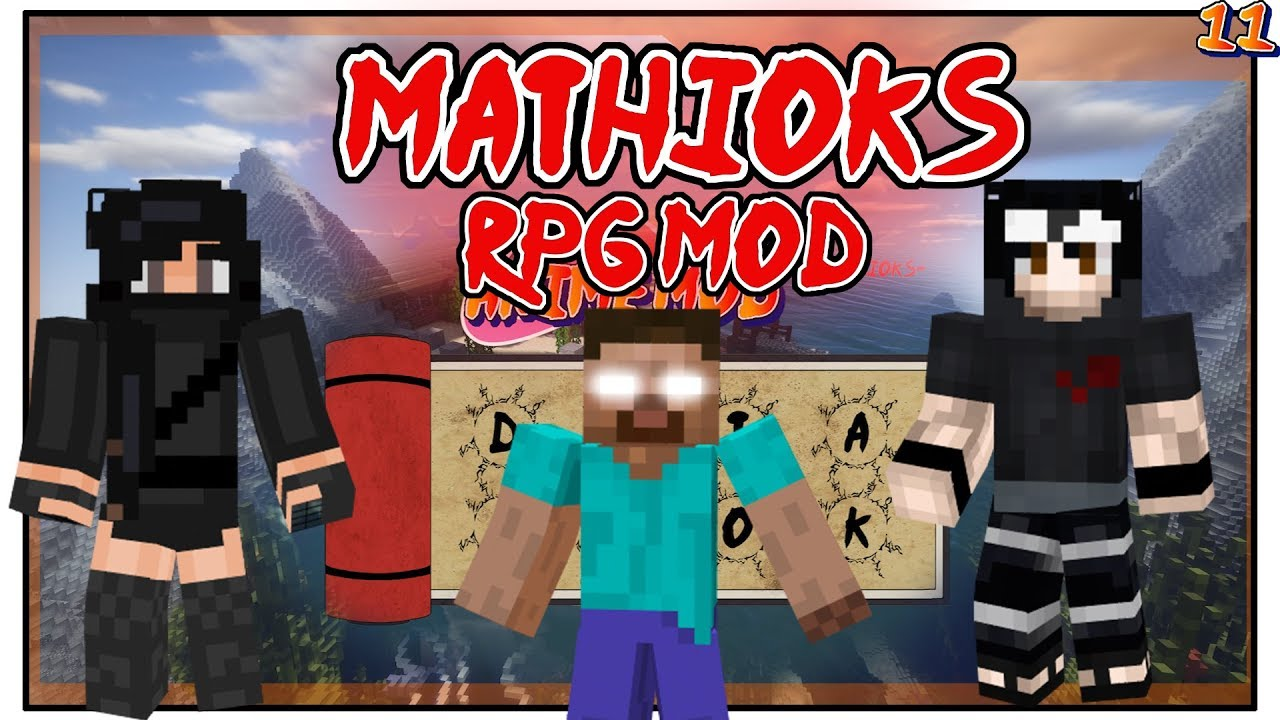 Video - Mathioks RPG Mod + Easter Event Conclusion! - NARUTO