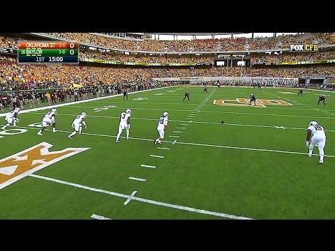 Oklahoma State Cowboys vs Baylor Bears 09-24-2016
