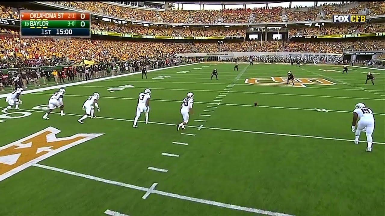 Oklahoma State Cowboys vs Baylor Bears 09-24-2016 - YouTube