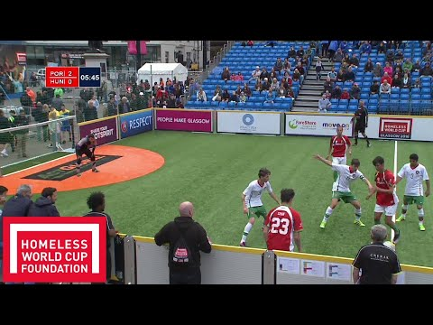 Portugal v Hungary | Men's Homeless World Cup 5th Place Play-Off #HWC2016