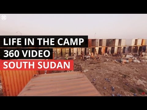 360 VIDEO | South Sudan: Forced to live in chaos and poverty