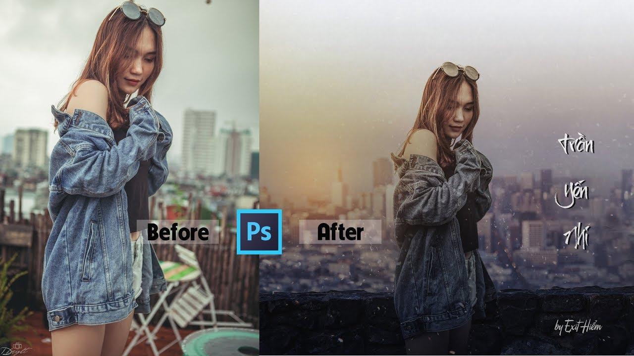 Cắt Ghép Blend Màu Tạo Ảnh Nghệ Thuật Trong Photoshop | Tự Học Photoshop