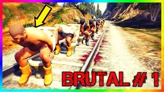 GTA 5 Crazy / Brutal Kill Moments: #2 (Grand Theft Auto V Compilation)