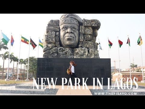 5 TOURIST ATTRACTIONS IN THE NEW PARK IN LAGOS - JOHNSON JAKANDE TINUBU PARK | THE FISAYO
