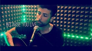 Jesse McCartney - Because You Live Cover Emanuele Rigido