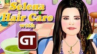 Thumbnail für Trashflash: Selena Hair Care - Haar-Tutorial mit GameTube