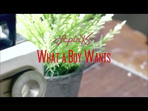 APink - What a Boy Wants