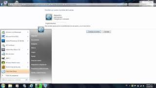 Como Cambiar el Nombre de Usuario de mi PC con Windows 7 / Vista !!!