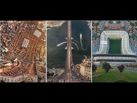 Inception Istanbul: Mind-Bending Drone Images of City's Mosques and Palaces