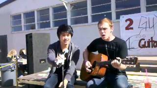 "2 Guys One Guitar! Cover ""I wanna love"""