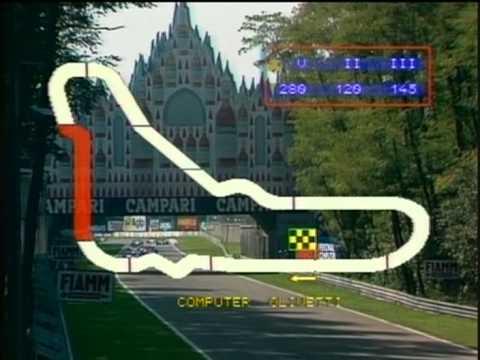 1984 Round 14   Italian Grand Prix formation lap