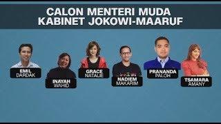 Bursa Calon Menteri Muda Jokowi, Dari AHY, Nadiem Makarim, Hingga Tsamara Amany