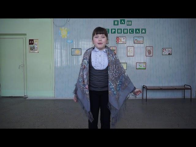 Изображение предпросмотра прочтения – АннаБазалетова читает произведение «Устное народное творчество, потешки» (Русский фольклор )