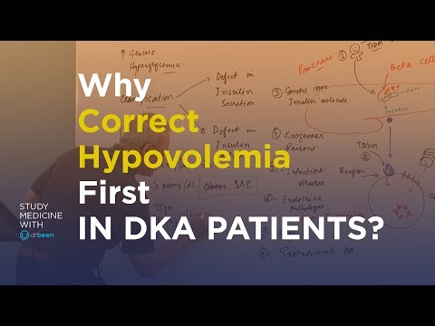 Why Correct Hypovolemia In A DKA Patient?