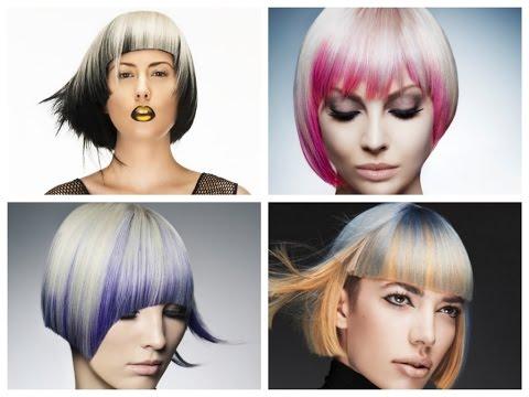 Модный цвет волос 2016 короткая стрижка