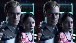 Detroit: Become Human Graphics Comparison - PS4 vs. PS4 Pro thumbnail