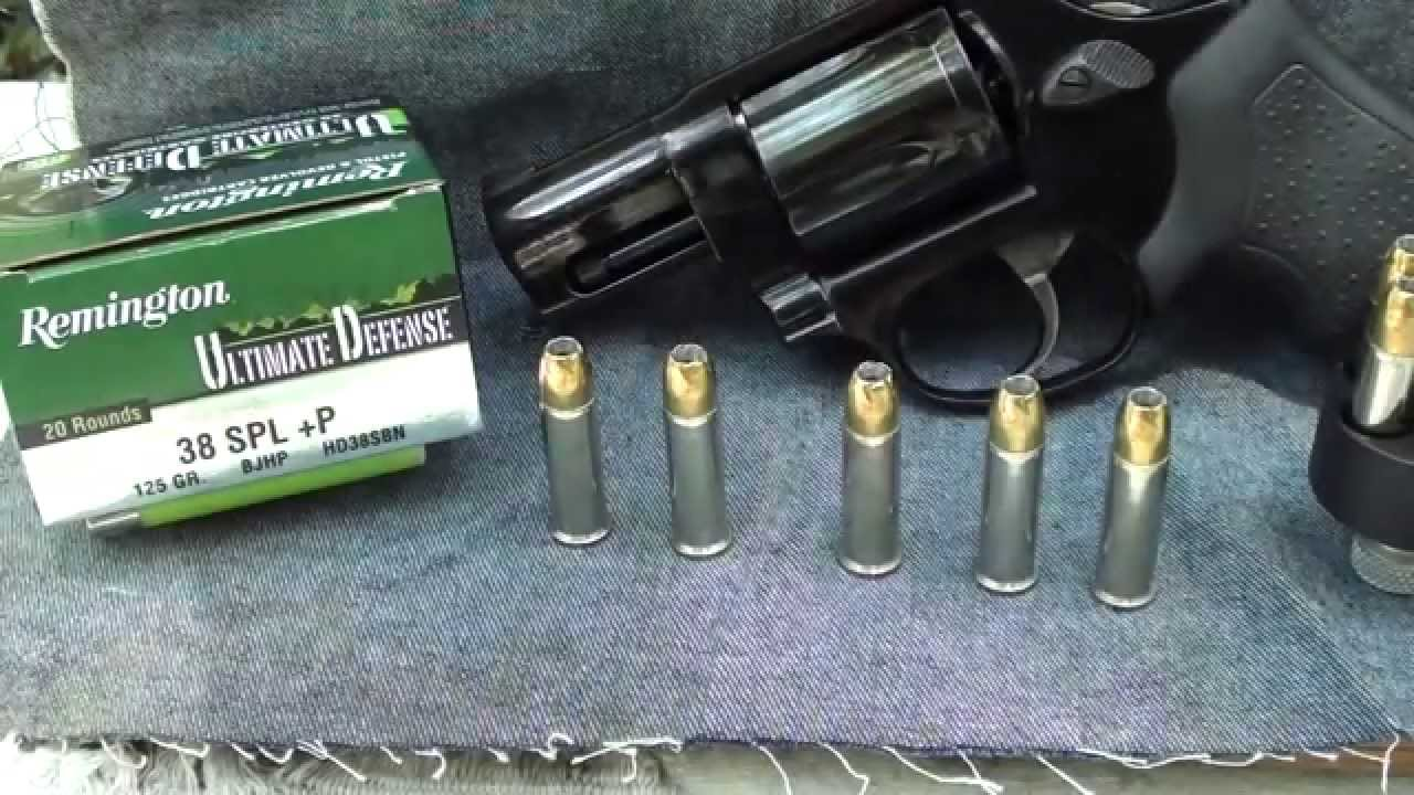 Ultimate Defense 38 Special +P Ballistic Gel Test Part 1