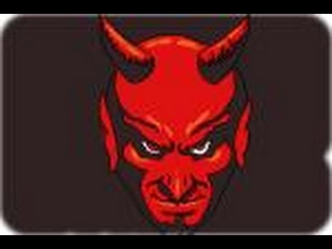 How to draw a Satan the Devil - YouTube