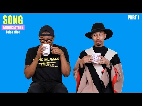KALEN ALLEN talks Ellen DeGeneres, Moving to LA, and Popeyes Chicken? | SONG ASSOCIATION (Pt. 1)